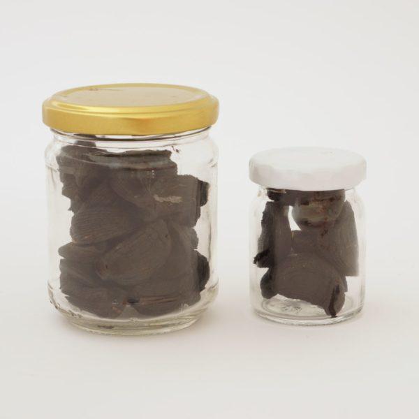 Crni češnjak, oba pakiranja - OPG Knežević, Češnjak BIO